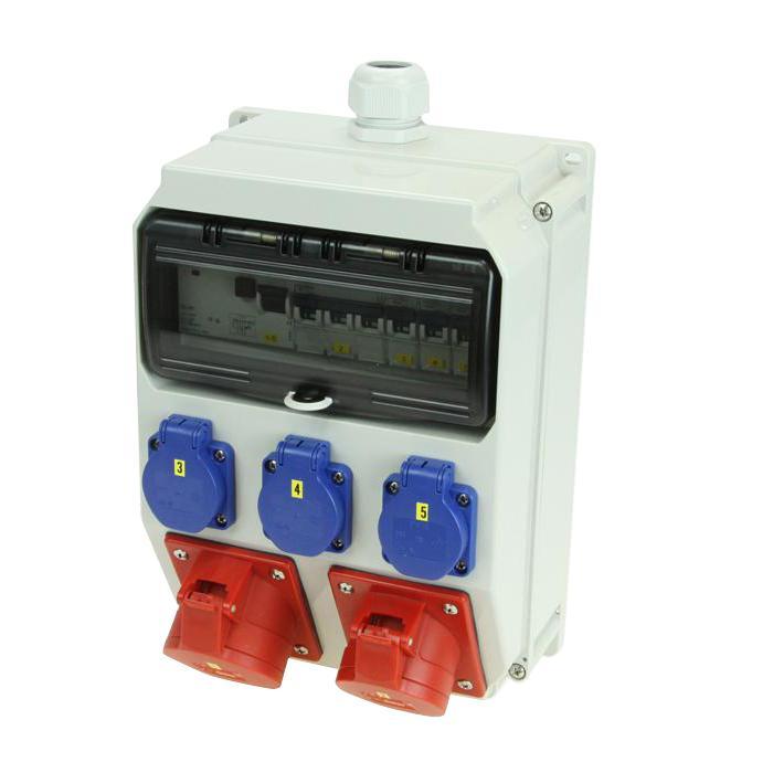 "Vägg distributör""DELTA ANIF7"" plast 255 x 204 x 140 mm"