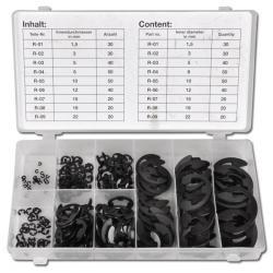 Stortiment med spårryttare - 300 delar - 1,5 till 22 mm